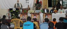 صور.. الشامي: الشهداء هم منهج العمل الاستشهادي والانتفاض في وجه الطغاة