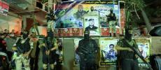صور.. سرايا القدس تنظم حفلاً تأبينياً للشهيد حسين محيسن بغزة