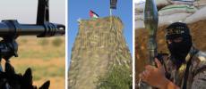 """صور.. """"برج التحدي"""": رسالة مقاتلي سرايا القدس في ذكرى البنيان المرصوص"""