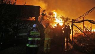 مسئول صهيوني: الحرائق أسوأ بكثير من عمليات السكاكين