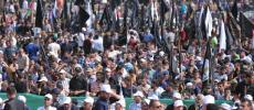 صور.. بدء فعاليات مهرجان الانطلاقة الجهادية الـ 29 في ساحةالكتيبة بغزة