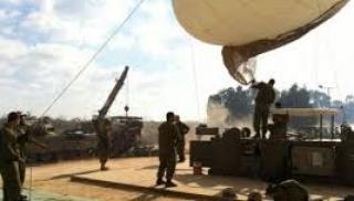 الجيش الصهيوني يفقد منطاد تجسس قرب غزة