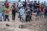 إصابة فتى برصاص الاحتلال شرقي البريج