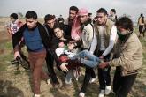 إصابة 5 مواطنين بمواجهات مع الاحتلال شرق غزة