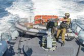 العدو يستهدف مراكب الصيادين ببحر شمال القطاع