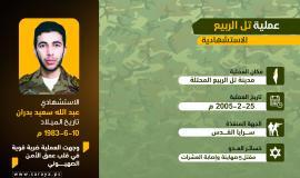 انفوجرافيك عملية عبد الله بدران