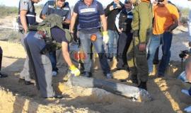 قصف السرايا لمدينة أسدود بصاروخين جراد