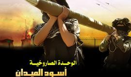 الوحدة الصاروخية اسود الميدان