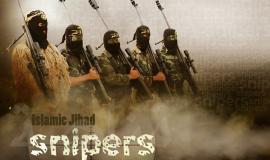 قناصة الجهاد الإسلامي جاهزون