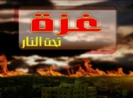 غزة تحت النار