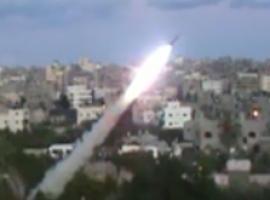 قصف المغتصبات بصواريخ الجراد والـ107