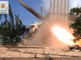 قصف مغتصبات العدو بصواريخ 107