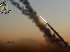 رشقات صاروخية تجاه مغتصبات العدو