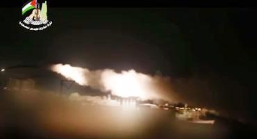 رشقات صاروخية على مواقع ومغتصبات العدو رداً على العدوان
