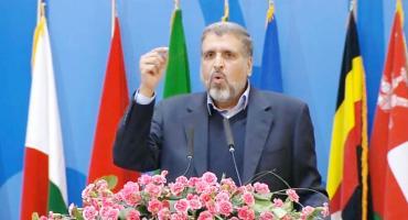 كلمة الدكتور رمضان شلح في المؤتمر الدولي السادس لدعم الانتفاضة الفلسطينية بطهران 21/2/2017