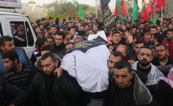 جنازة الشهيدين السلطان ونصر الله (1) 