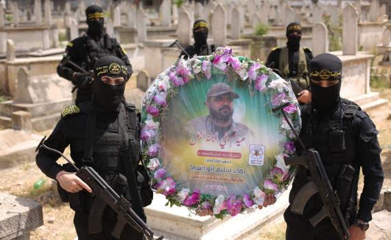 زيارة قبر الشهيد بهاء أبو العطا (15)