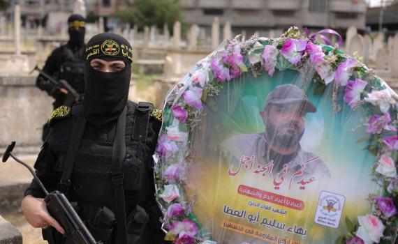 زيارة قبر الشهيد بهاء أبو العطا (22)