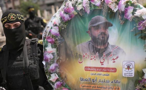 زيارة قبر الشهيد بهاء أبو العطا (19)