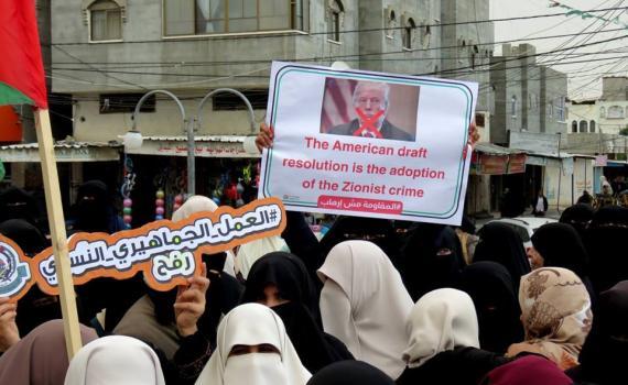 مسيرات ضد القرار  (1) 