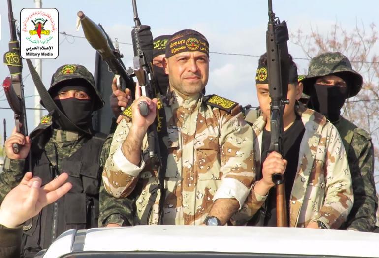 مراسم استقبال المحرر صالح خضورة